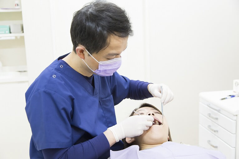 まずは検査で歯周病かどうかをチェック!